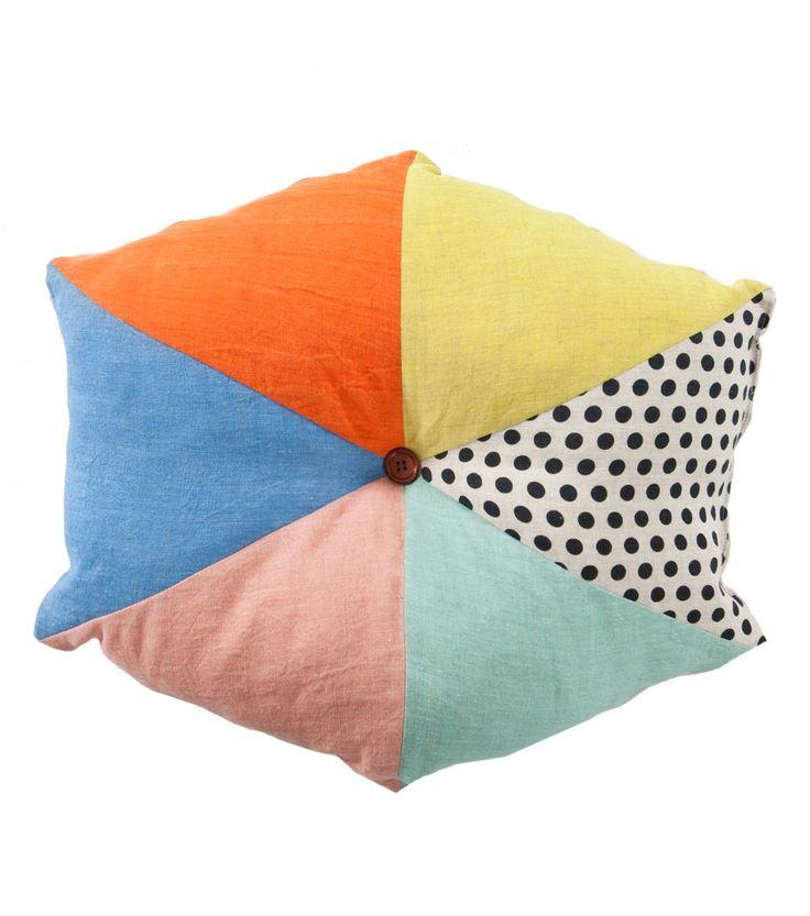 Gorman beneath the sun hexagon cushion