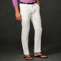 Linen Harrison Pant - Purple Label Best Sellers - RalphLauren.com
