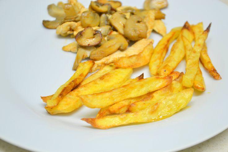 Palavras que enchem a barriga: Batatas 'fritas' no forno e uma consulta (parte 1) :)