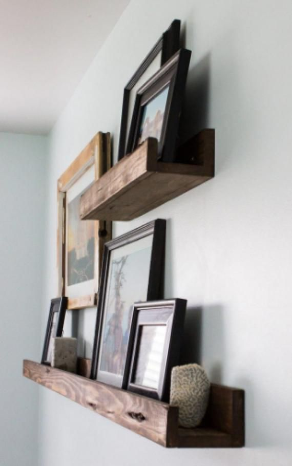 Farmhouse Picture Ledge Shelf Floating Shelves Wall Shelf