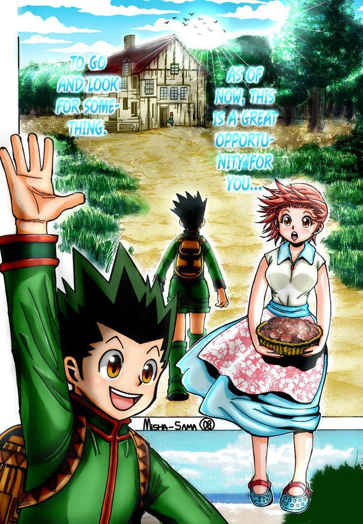 Hunter x Hunter manga full color page by MishaSama08