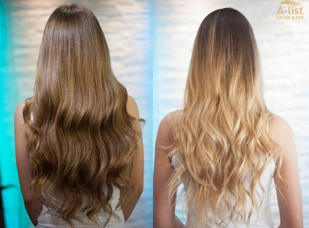 "Trendy highlights with ""wow"" effects  ombre, balayage ombre, copacabana highlight"
