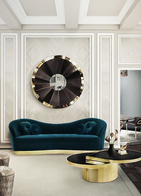 In the modern living room luxury sofas play an important role in terms of decor and character. Here we share 20 examples of luxury sofas and upholstered pieces.