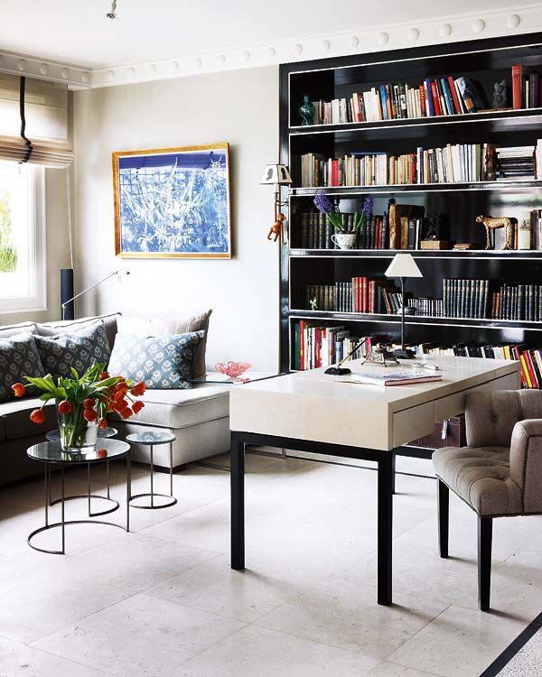 17 Best ideas about Black Bookcase on Pinterest