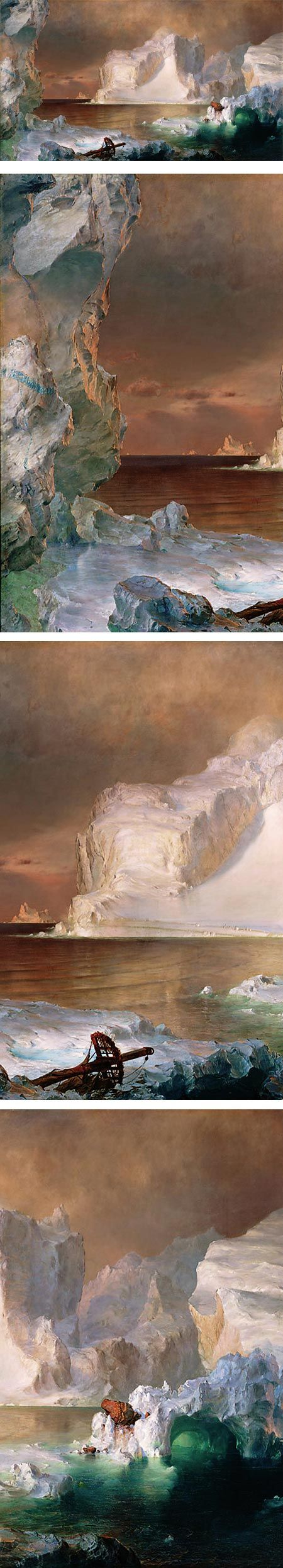 Eye Candy for Today: Church's icebergs