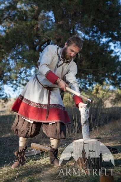 FIXED SIZE Ready to ship Men's Medieval Viking Tunic by armstreet