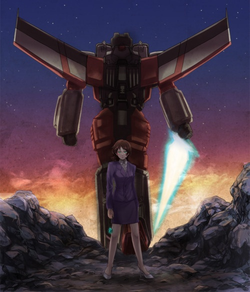 Starscream/Alexis back to back. Transformers Armada.