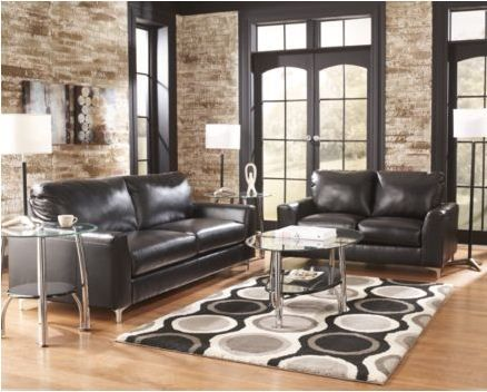 Metro Modern Sofa In Black With A Simple, Clean Metal Leg. I Can Design