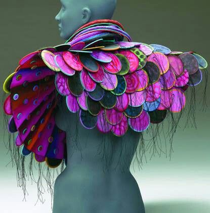 Fashion art. Marjorie Sichck
