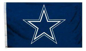 Dallas Cowboys 3'x5' All Pro Design Flag