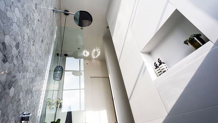 In Pictures: Darren and Dee's 'calming' ensuite | The Block Glasshouse | 9jumpin