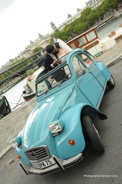 L'idée de l'été : la voiture des mariés !