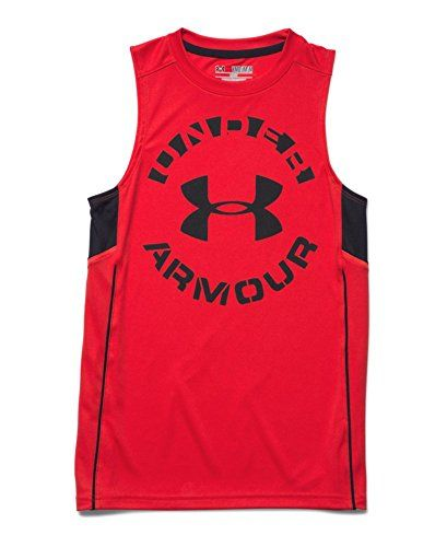 Under Armour Big Boys' UA Circle Script Tank  //Price: $ & FREE Shipping //     #sports #sport #active #fit #football #soccer #basketball #ball #gametime   #fun #game #games #crowd #fans #play #playing #player #field #green #grass #score   #goal #action #kick #throw #pass #win #winning