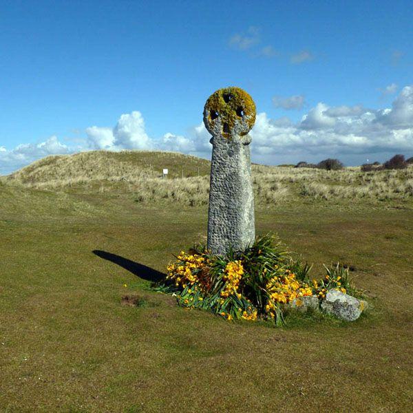 ST PIRAN | St Piran's Cross | Perran Dunes, Perranporth, Cornwall ✫ღ⊰n