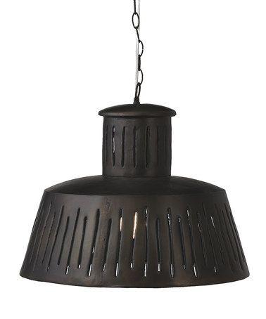Look at this #zulilyfind! Small Industrial Light Fixture #zulilyfinds