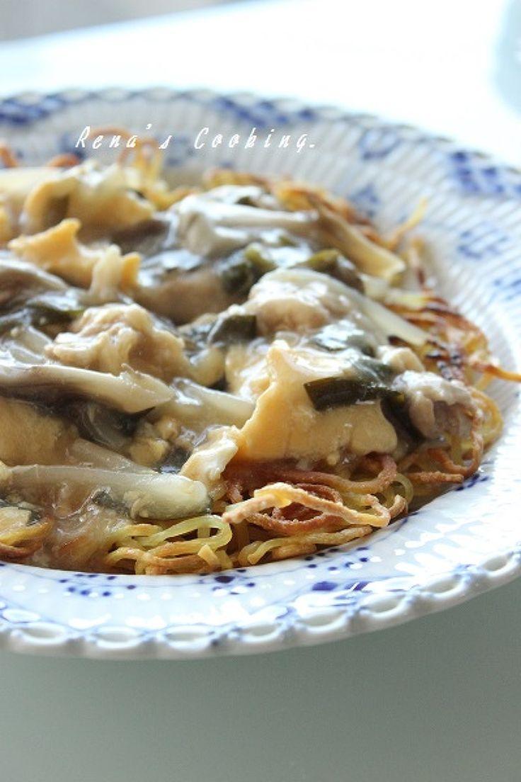 サンラータン風あんかけかた焼きそば by レナ♪ | レシピサイト「Nadia | ナディア」プロの料理を無料で検索