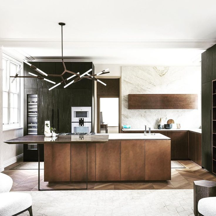 No words to describe this kitchen in in copper wood and stone.  By @tmitalia  #archiproducts #tmitalia #kitchens