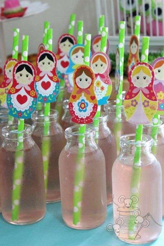 Matryoshka party Birthday Party Ideas | Photo 14 of 14 | Catch My Party