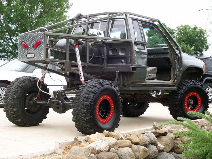 Custom toyota crawler roll cage custom fabrication on - Interior roll cage for toyota pickup ...