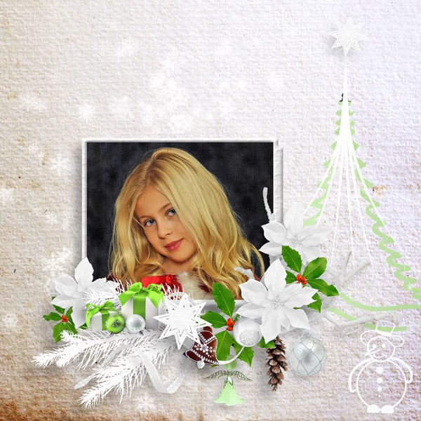 Christmas Time by Molemina Scrap
