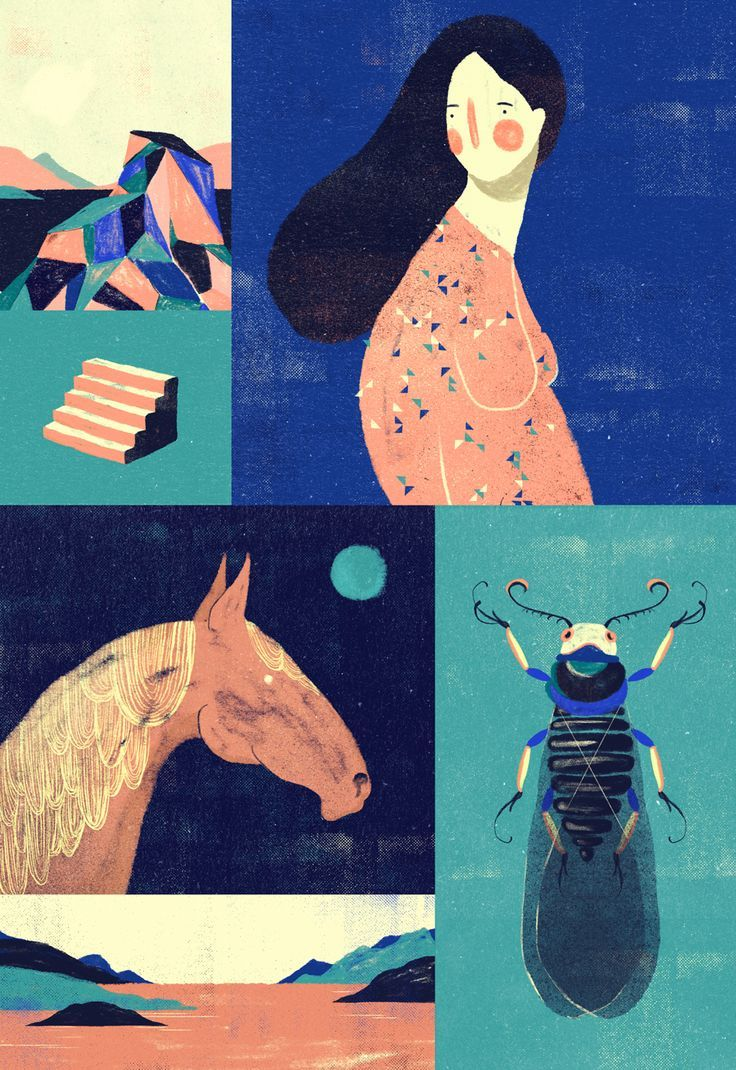 Only recently discovered Willian Santiago on Behance, but he's really special.   Contemporary illustration