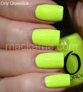 MacKarrie Beauty - Style Blog: Orly Glowstick