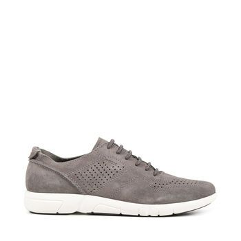 Buy Brattley men's trainers in grey. Shop now at Geox.com. Free and easy returns!