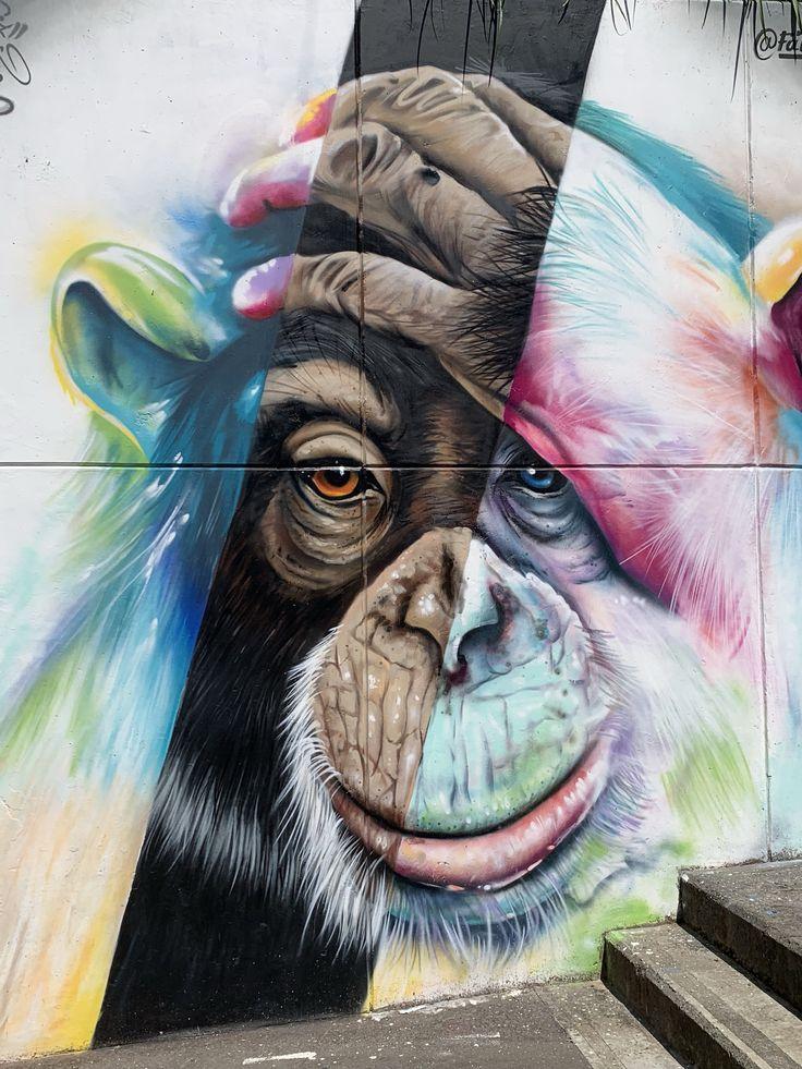 Street art district 13 Medellín Street art, Medellin, Art