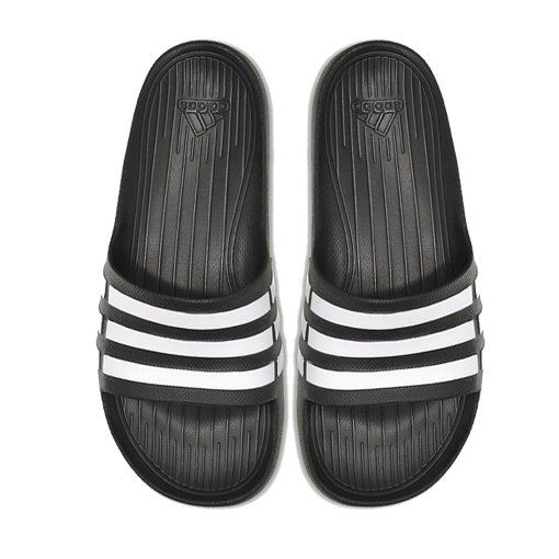 For post-game casual wear, the adidas Duramo Slide deserves a spot in your gear. It's designed to deliver comfort with lightweight EVA cushioning and get you where you need to be in style and comfort. This sport sandals perfect for before or after the game. http://www.zocko.com/z/JHQnz