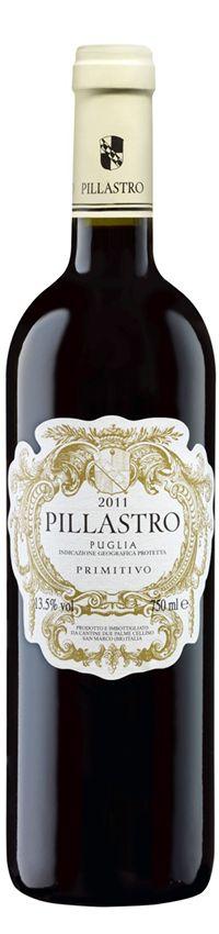 Pillastro Primitivo, Wein, ChateauDirect
