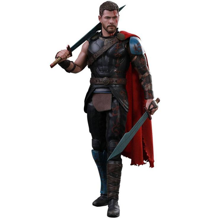 Hot Toys Thor Ragnarok Movie Masterpiece Action Figure 1/6 Gladiator Thor 32 cm