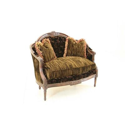 Old Hickory Tannery M-111-TNM Old Hickory Tannery Tufted Back Chair/Settee Discount Furniture at Hickory Park Furniture Galleries