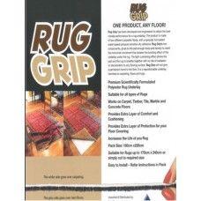 RUG GRIP - NON SLIP RUG UNDERLAY 180CM WIDE & LENGTH-CUT TO ORDER (Select 1-25 numbers to choose length in meters)