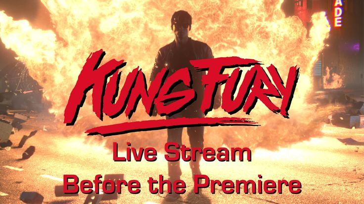 Kung Fury Live stream before the premiere