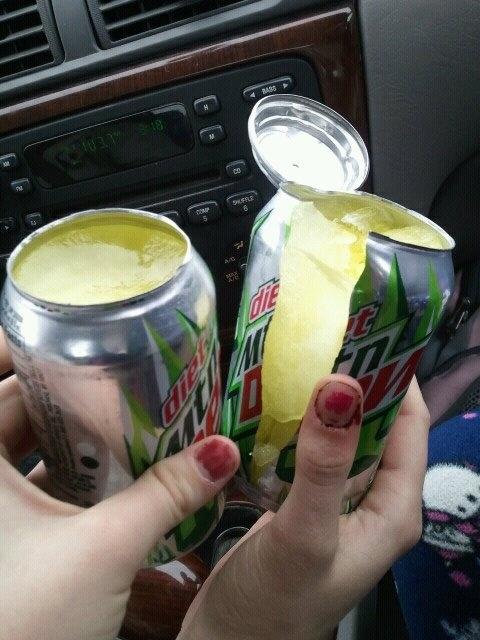 Mtn. Dew Popsicles!