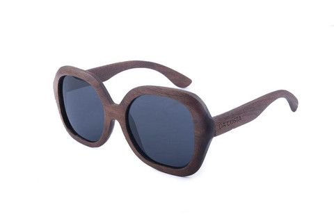 Women's Da Costa Wooden Sunglasses - Polarized Mirror Lens. Float in Water, great for the beach!