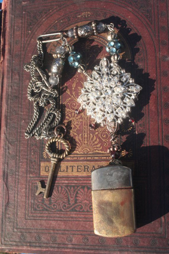 Vintage Assemblage Reliquary Necklace Vintage by IRISHTREASURE