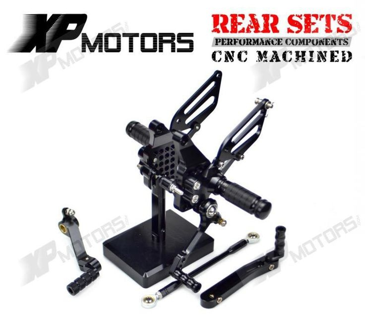 92.99$  Watch here - New CNC Black  Billet Racing Adjustable Rearset Foot Pegs Rear Sets For Ducati 749 749R/S 999 999R/S 2003 2004 2005 2006  #shopstyle