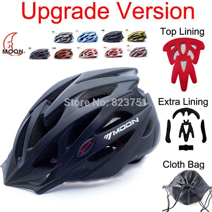 ЛУНА Модель Обновления 2015 Велосипедный Шлем Насекомых Чистая Велосипедный Шлем интегрального под давлением Сверхлегкий Дорога Горный Велосипед Шлем