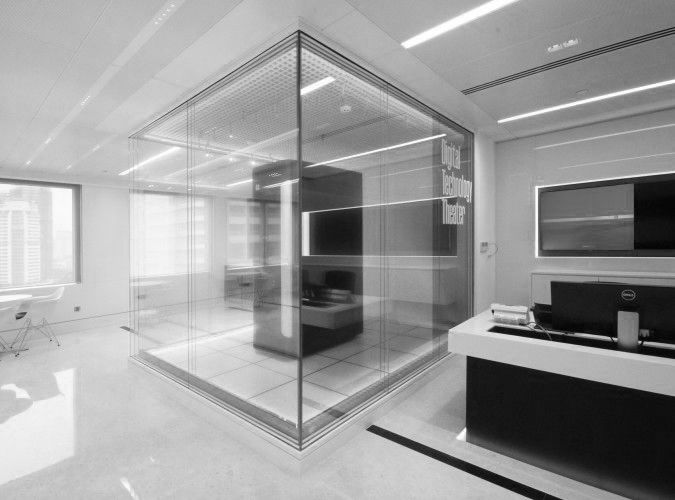 office space lighting. nulty client presentation centre kuala lumpur commercial office space feature server display cabinet lighting