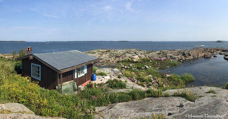 Moomin.com - Open house week at Klovharu island in summer 2016