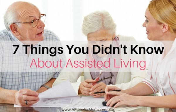 7 Things You Didn�t Know About Assisted Living