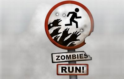 Zombies, Run! A great app to spice up your workout. It mixes the story with your music playlist and forces you to run faster when zombies are chasing you.