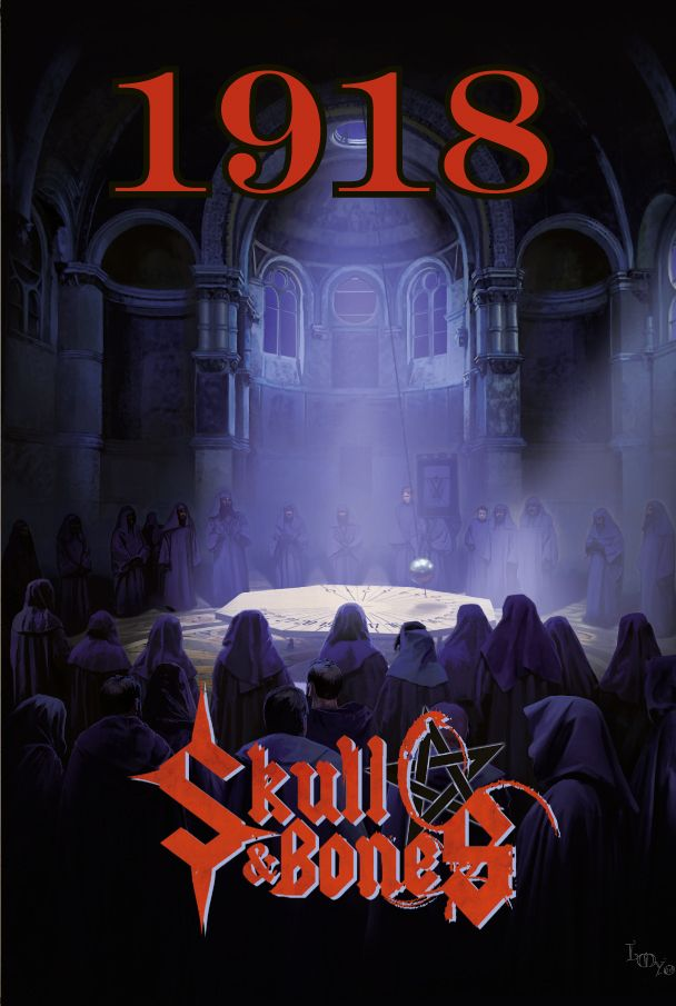 Cover of the 1918 campaign for the french RPG Skulls and Bones (Les XII Singes Ed) All Rights Reserved Laurent Miny/Les XII Singes 2016