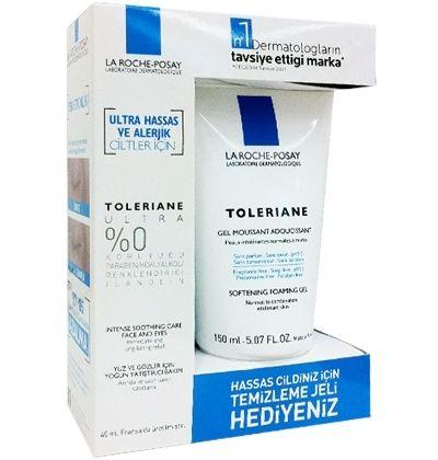 La Roche Posay Toleriane Ultra 40 ml + Toleriane Gel Mousse 150 ml HEDİYE - Parfumerie et parapharmacie - La Roche-posay