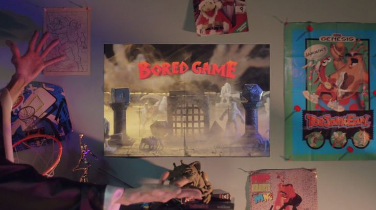 Watch this: 'Bored Game' mashes up the pre-digital games of the '90s