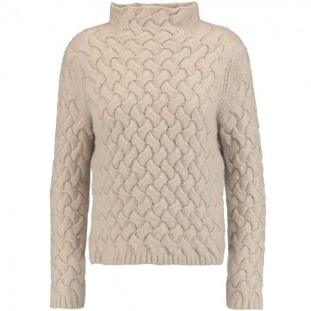 Basket weave jumper from Iris and Ink at The Outnet, £295.   50 of the cosiest jumpers to wear when its cold   Winter style   Winter winter jumpers   Visit  for more winter style.