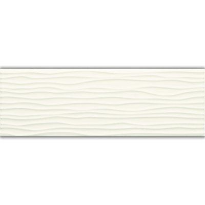 American Olean 4 In X 12 In Starting Line Gloss White