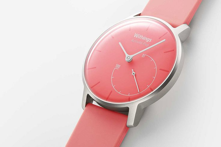 Withings præsenterer: Lyserød version af Activité Pop #withings #smartwatch #pink #lady #girl