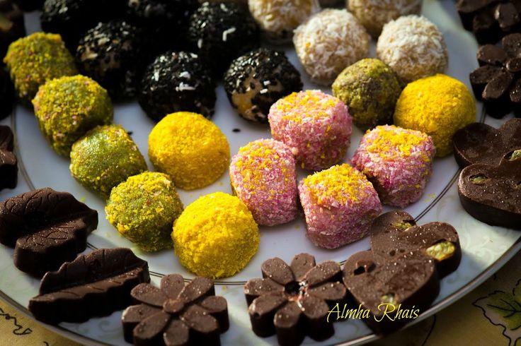 Candies, Candies Raw ~Almha Rhais